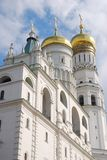Moscow Kremlin, Ivan the Great Bell-Tower. Moscow Kremlin inside, The Ivan the Great Bell-Tower complex. UNESCO World Heritage Site Royalty Free Stock Images