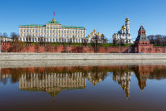 Moscow Kremlin and Ivan the Great Bell Tower Stock Photos