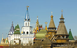 Moscow, Kremlin in Izmaylovo Stock Image