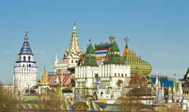 Moscow, Kremlin in Izmaylovo Royalty Free Stock Image