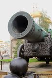 Moscow Kremlin. King Cannon. UNESCO World Heritage Site. Royalty Free Stock Image