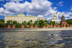 Moscow Kremlin and Kremlin embankment, Moscow, Russia Stock Photo