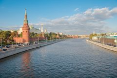 Moscow Kremlin. Moscow. Russia Royalty Free Stock Photo