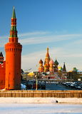 Moscow Kremlin, Moscow, Russia. Royalty Free Stock Photos