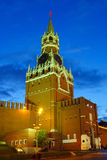 Moscow Kremlin at night. Moscow, Russia Stock Images