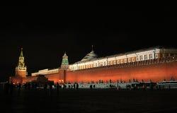 Moscow Kremlin at night Royalty Free Stock Photos