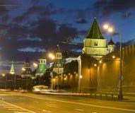 Moscow, Kremlin at night Royalty Free Stock Image