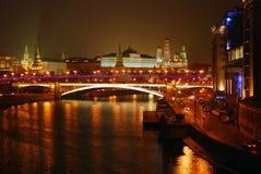Moscow Kremlin. Night scene. Stock Image