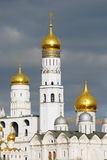 Moscow Kremlin panorama in autumn. Stock Image