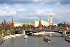 The Moscow Kremlin panorama. Royalty Free Stock Photo
