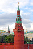 Moscow Kremlin panorama in summer. Royalty Free Stock Photo