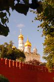Moscow Kremlin panorama in summer. Royalty Free Stock Photography