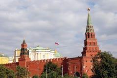 The Moscow Kremlin panorama. Royalty Free Stock Photos