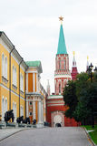 Moscow Kremlin panorama. UNESCO World Heritage Site. Royalty Free Stock Photo