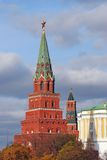 Moscow Kremlin. Red ruby star. Royalty Free Stock Photography