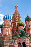 Moscow Kremlin, Red Square, St.Basil Cathedral. UNESCO World Heritage Site Stock Photos