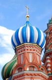 Moscow Kremlin, Red Square, St.Basil Cathedral. UNESCO World Heritage Site Stock Photo