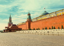 Moscow, Kremlin,with a retro effect.Cityscape in a sunny day Stock Image