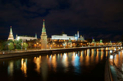 Moscow Kremlin and river Royalty Free Stock Photography