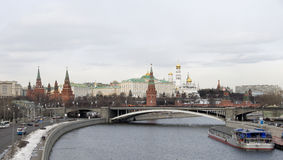 Moscow Kremlin. Russia Stock Images