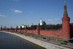 Moscow kremlin russia Royalty Free Stock Photo