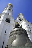 Moscow Kremlin, Russia. The Ivan the Great Bell-Tower complex (Moscow Kremlin, Russia Royalty Free Stock Photos