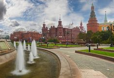 Moscow Kremlin, Russia Royalty Free Stock Photography