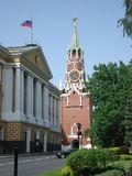 Moscow Kremlin in Russia Royalty Free Stock Photo