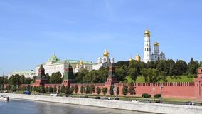 Moscow Kremlin, Russia stock video footage
