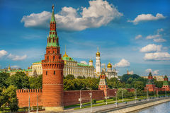 Moscow Kremlin in Russia Royalty Free Stock Photos
