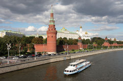 Moscow kremlin, russia. stock photo