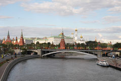 Moscow kremlin, russia. Royalty Free Stock Photography