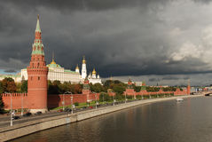 Moscow Kremlin. Kremlin in Moscow, Russian Capital Stock Photos