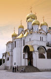Moscow - Kremlin - Russian Federation. Cathedral of the Annunciation in the Kremlin in Moscow in the Russian Federation royalty free stock photos