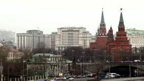 Moscow Kremlin.Russian Federation stock video