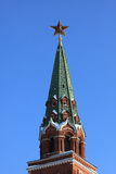 Moscow. Kremlin's star Royalty Free Stock Photography