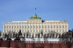 Moscow Kremlin series. The Grand Kremlin Palace. Stock Photography