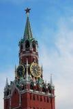 Moscow Kremlin, Spasskaya Tower. Moscow Kremlin. Spasskaya Tower. UNESCO World Heritage Site Stock Photos