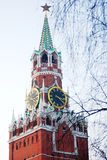 Moscow Kremlin, Spasskaya Tower. Royalty Free Stock Photography