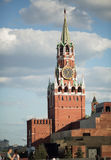 Moscow Kremlin Spasskaya Tower. Moscow, Spasskaya Tower of the Kremlin on Red Square Royalty Free Stock Photos