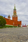 Moscow Kremlin, Spasskaya Tower, Red Square stock photos