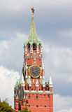 Moscow Kremlin. A Spassky tower. Royalty Free Stock Photos