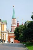 Moscow Kremlin in summer. UNESCO World Heritage Site. Stock Photos