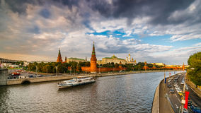 Moscow Kremlin At Sunset - 2 Royalty Free Stock Photo