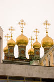 Moscow Kremlin. Terem churches. Color photo. Royalty Free Stock Photos