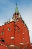 Moscow Kremlin tower. Moscow Kremlin. UNESCO World Heritage Site Stock Image