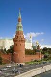Moscow, Kremlin tower Royalty Free Stock Photos