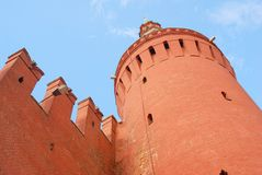 Moscow Kremlin tower. Stock Image
