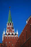 Moscow Kremlin tower. Color photo. Stock Image