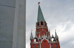 Moscow Kremlin tower. UNESCO World Heritage Site. Stock Photography